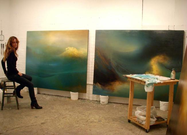 Samantha Keely Smith in studio
