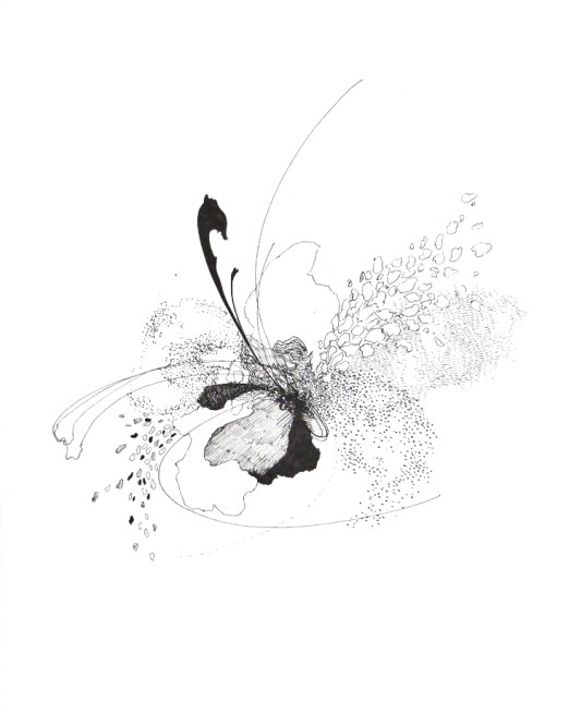 Verge 3, drawing by Christina Kwan | tide & bloom