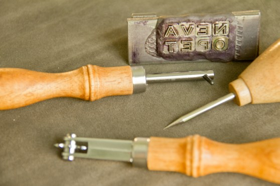 Neva Opet: leather working tools | tide & bloom