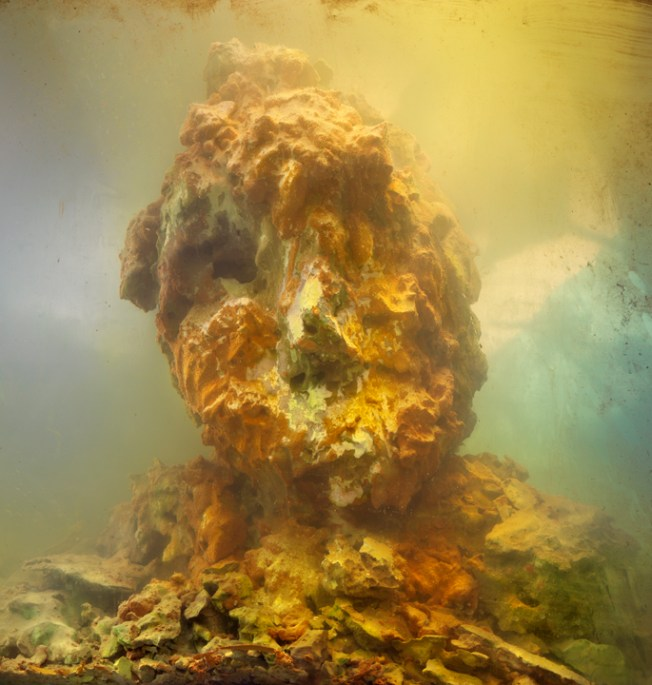 """Eroded Man 49c"" by Kim Keever 