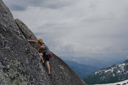 Needle Peak Crack