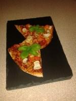 pizza med pastinak og peberfrugt