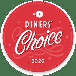 OpenTable Diners Choice 2020 Award Logo