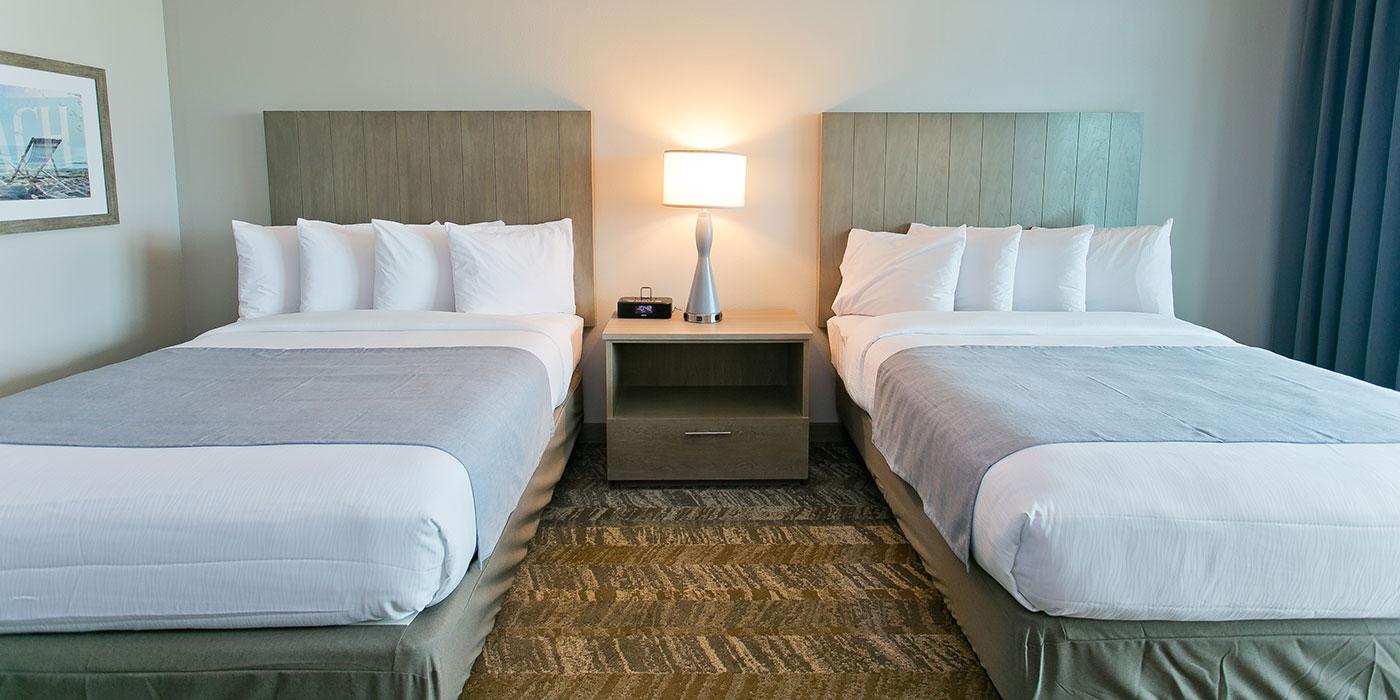 Queen Beds Corner Room  Tides Hotel Orange Beach AL