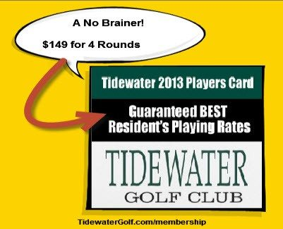 A-No-brainer-Players-Card_Tidewater-Golf-Club