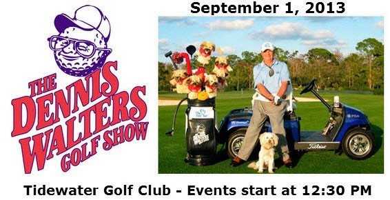 The Dennis Walters Show - Tidewater Golf Club - September 1, 2012 - North Myrtle Beach Golf courses