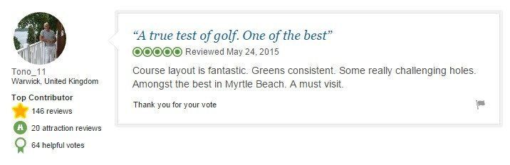 A true test of golf_One of the best_Tono_11_TripAdvisor_Top contributor