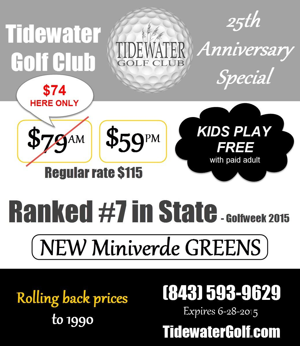 Summer golf special-25th anniversary