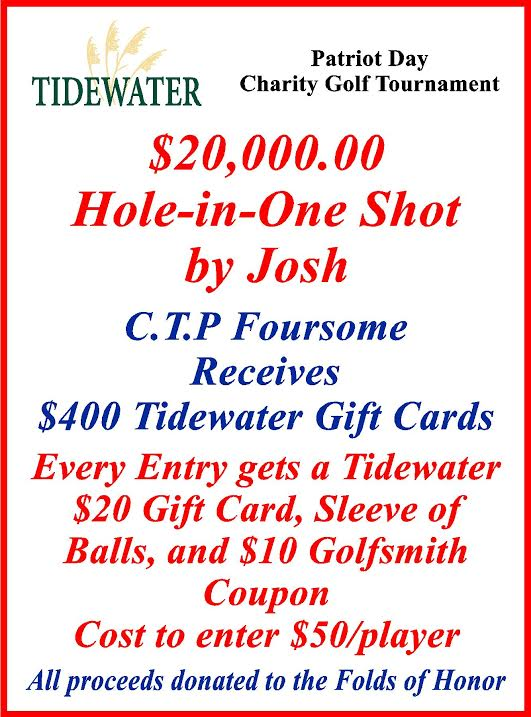 TCTC Hole In One for $20000