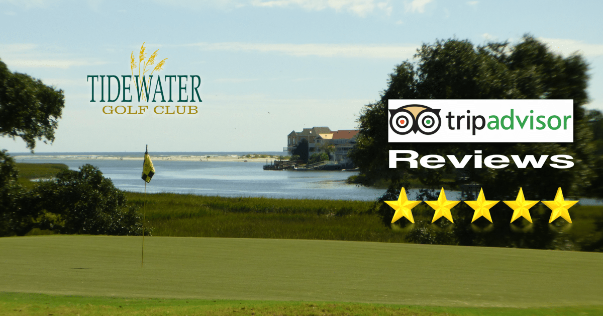 Golf Course Reviews Tidewater Myrtle Beach SC