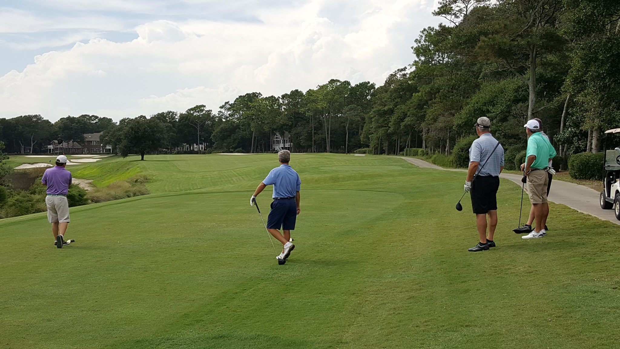 No 4 hole Tidewater Golf