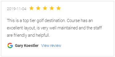 Tidewater Golf Course Review - Gary Koestler - Google 11-04-2019