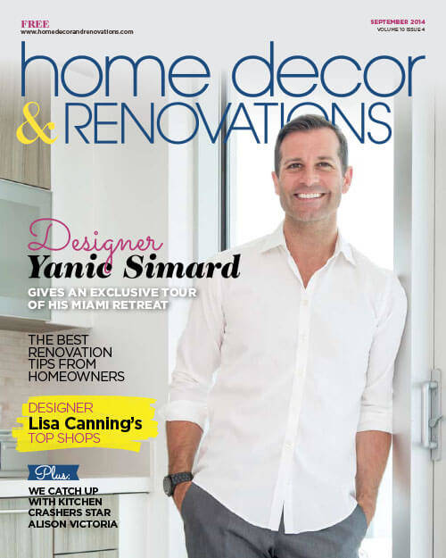 Home Decor & Renovations September 2014