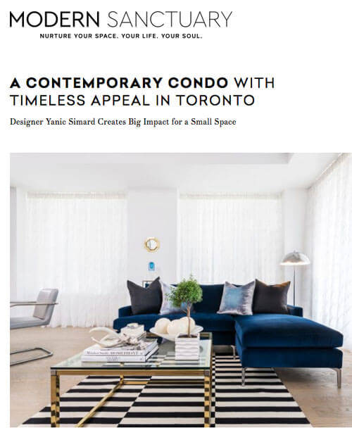 A Contemporary Condo With Timeless Appeal In Toronto