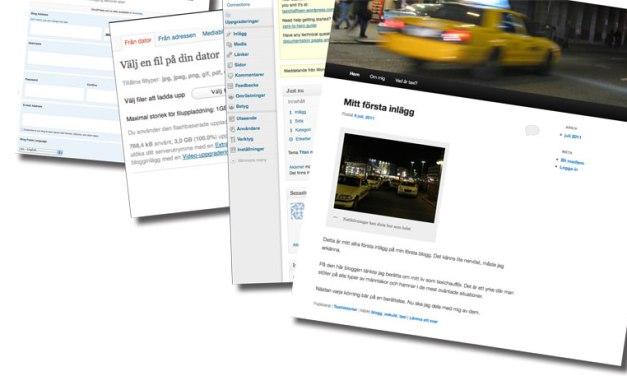 Starta blogg – kom igång på mindre än 30 minuter