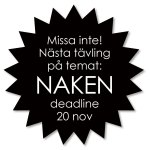 Ny novelltävling: Naken