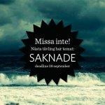Ny omgång av novelltävlingen på temat Saknade