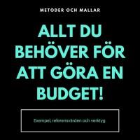 Ska du göra budget? Här är: Mallar, Metoder, Budgetexempel och Tips