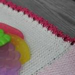 Nærbilde strikkekant