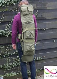 Bagen kan brukes som ryggsekk