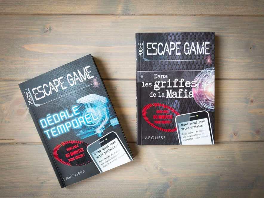 Livre Escape Game J Ai Teste 4 Livres Jeux Tidudi