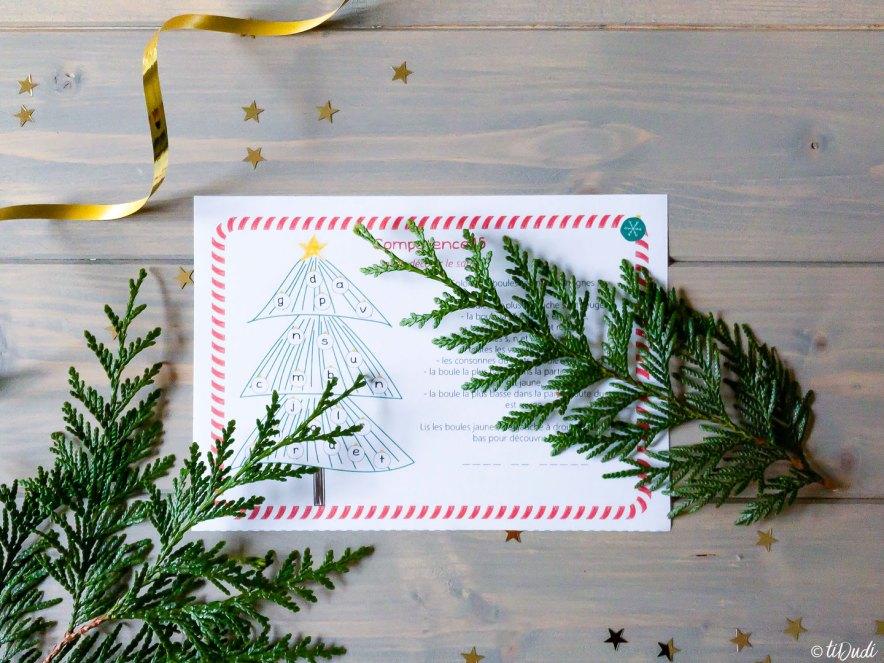 Calendrier de l'Avent escape game pour enfants Qui veut remplacer le Père Noël tiDudi