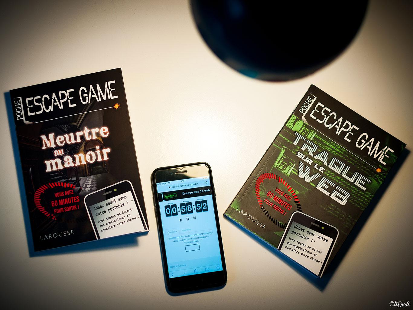 Escape Game De Poche Meurtre Au Manoir Et Traque Sur Le