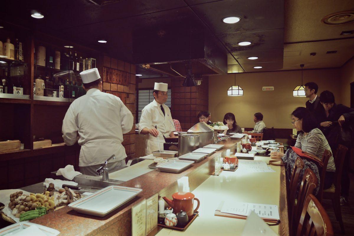 amazing tempura in japan