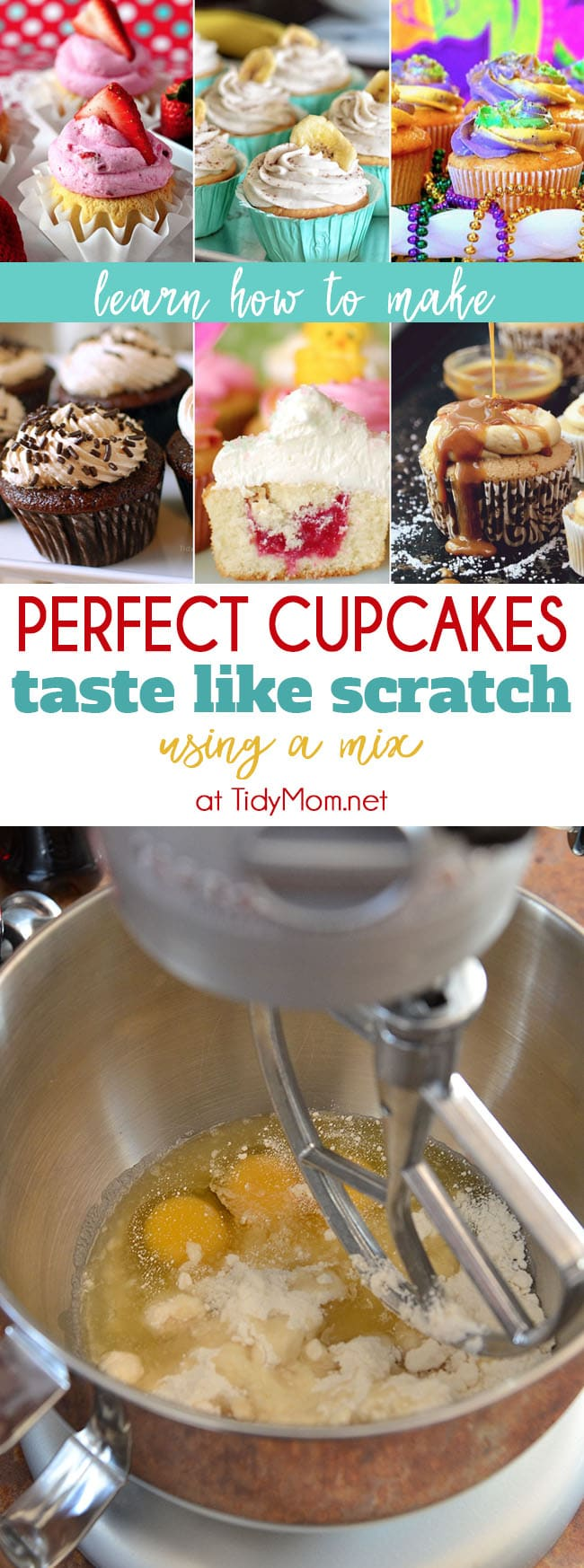 How Many Cupcakes In A Cake Mix : cupcakes, Perfect, Cupcake, Recipe, Using