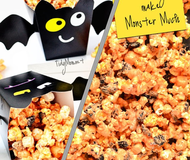 Halloween Party Popcorn Recipe At Tidymom Net