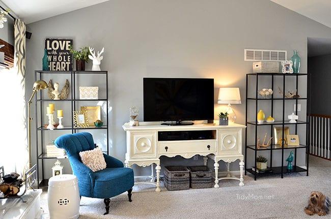 martha stewart saybridge sofa 2 seater l shaped bed family room makeover ikea vittsjÖ