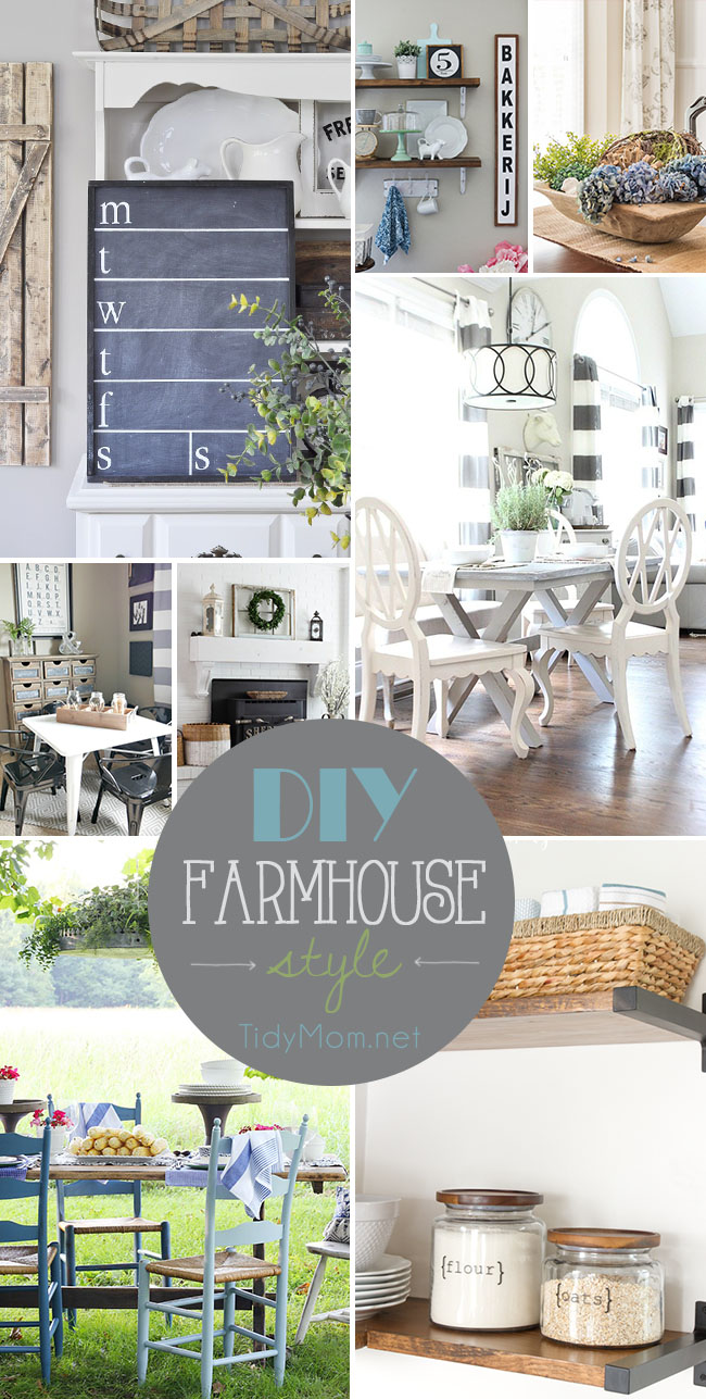 DIY Farmhouse Style You're Going to Love | TidyMom®