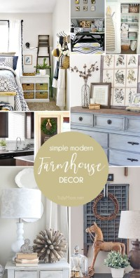 Simple Modern Farmhouse Decorating | TidyMom