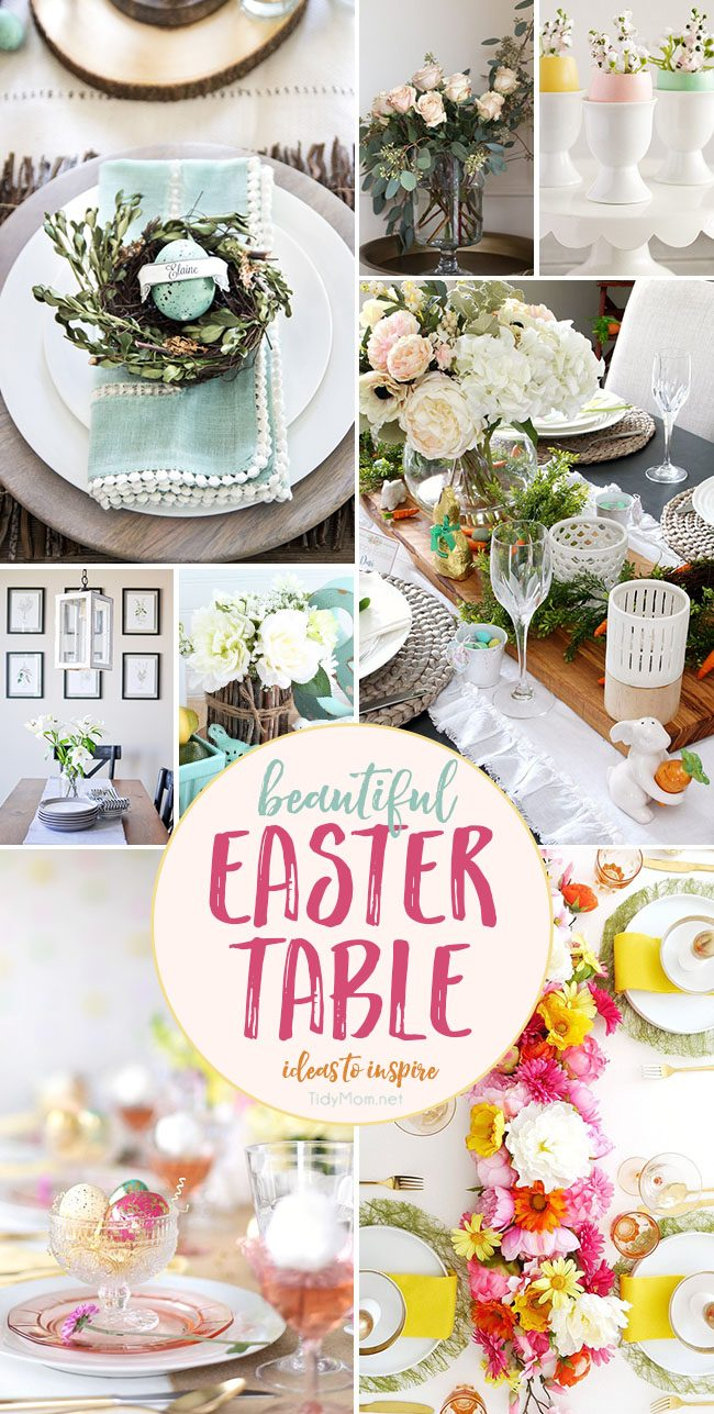 beautiful easter table ideas to inspire you