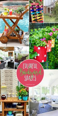 Colorful Backyard Spaces to Relax in this Summer   TidyMom