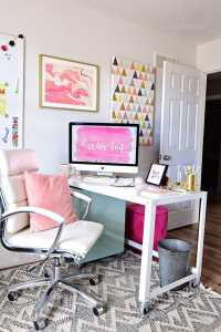 Decorating a Shared Home Office | TidyMom