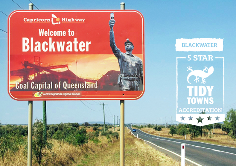 Blackwater – Queensland Tidy Towns Accreditation and Awards