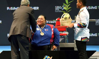 Tiebreaker Times Cielo Honasan's golden heater continues; Adeline Dumapong-Ancheta delivers once again News Swimming Track & Field Weightlifting  Rosalie Terrefiel Prudencia Panaligan Cielo Honasan Cendy Asusano Adeline Dumapong-Ancheta 5th ASEAN Paralympic Games