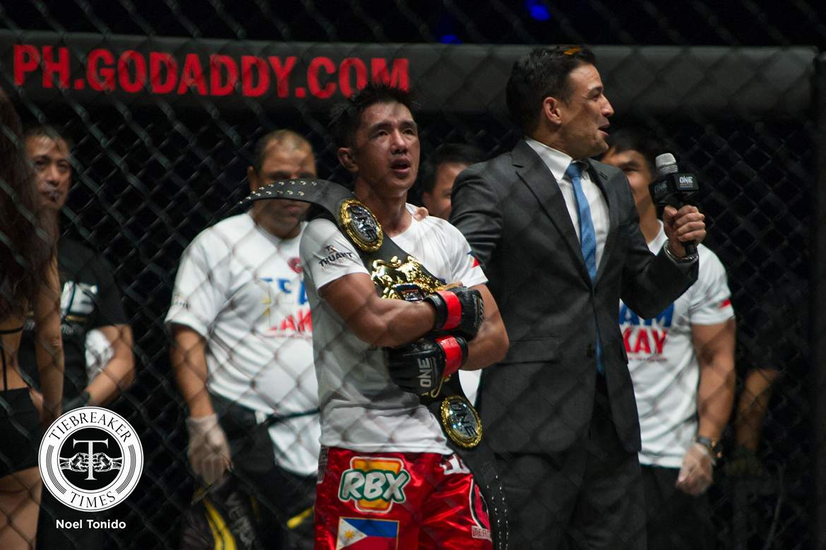 Geje Eustaquio Grinds Out Decision to Win ONE Interim Flyweight Title