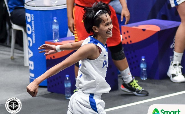 Pontejos Waxes Hot From Deep Buoys Gilas Women S 3x3 To