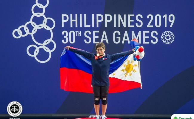 Hidilyn Diaz Finally Cops First Sea Games Gold