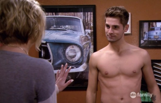 Jean-Luc Bilodeau in Baby Daddy Episode 3.13