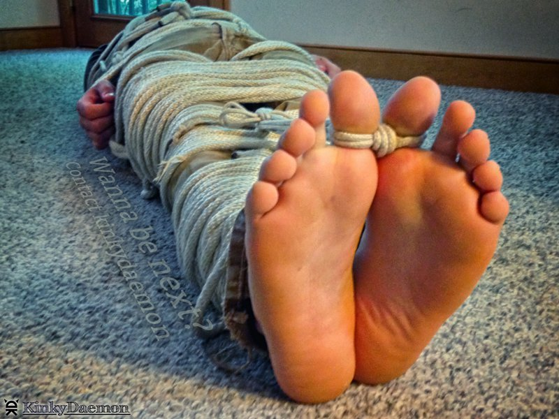 Toes Tied