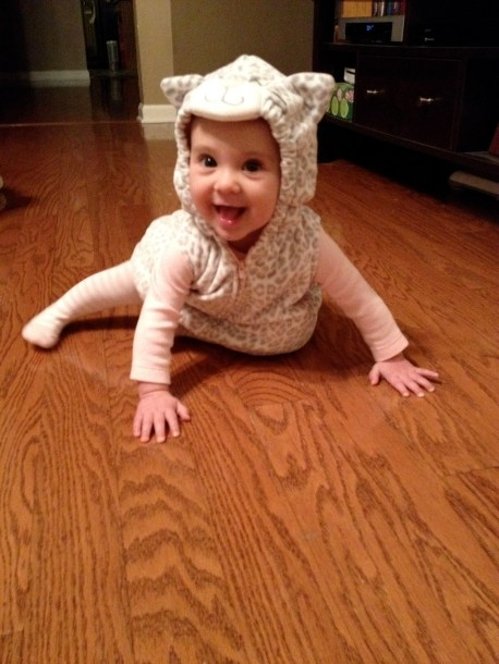 Meow! Claire's 1st Halloween!