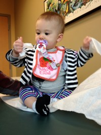 Trip #4 to the doctor's office this month :(