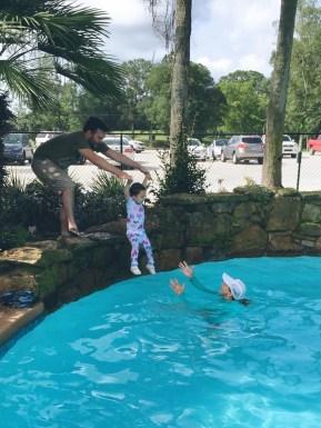 Swim lesson!