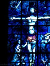 Detail des Marc Chagall Fensters