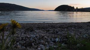 Sonnenuntergang am Lac de Joux