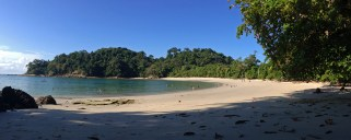 Strand im Nationalpark Manuel Antonio