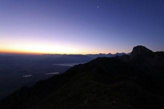 Stockhorn by Night